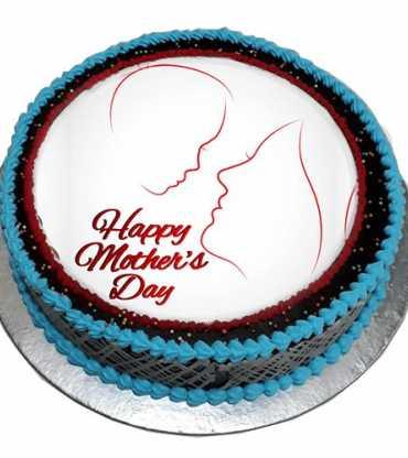 Happiness Mom's cake