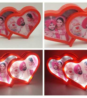 Heart Shap LED Photo Frame