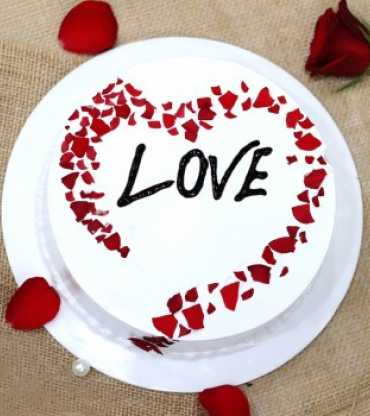 Heart Shape Special Love Cake