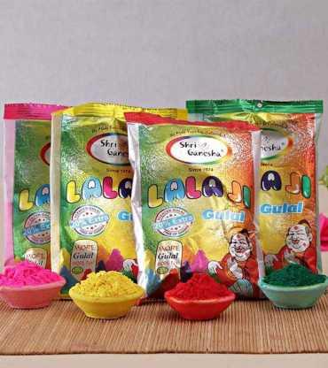 Holi 4 Colors Pack