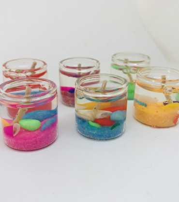 Decorative Gel Glass Candel