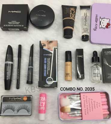 Makeup Glamour Kit Combo Pack