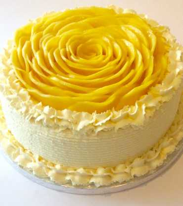 Mango Forest butter cream Cake