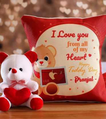 Perfect Cushion & Teddy Combo