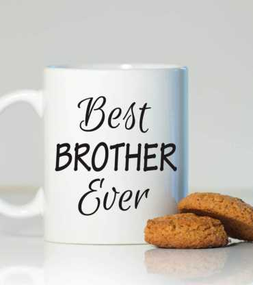 Personalised Bhai  Dooj Mug & Sugar Cookies
