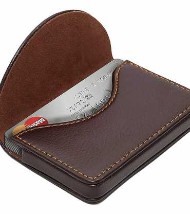 Pocket size card holder wallet