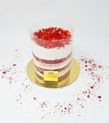 Red Velvet Pull Up Cake