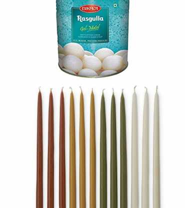 Set of Candle and Rasugulla 1kg