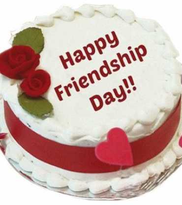 Special friendship day Vanila cake