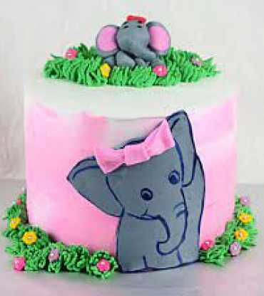 Sweet Elephant Cake