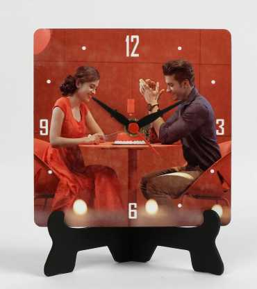Sweet Personalize Table Clock