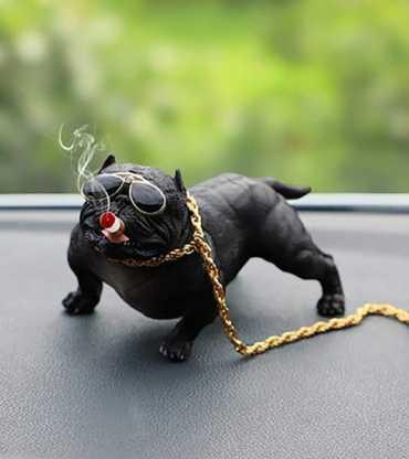 Car Dashboard Decoration Item (Dog)