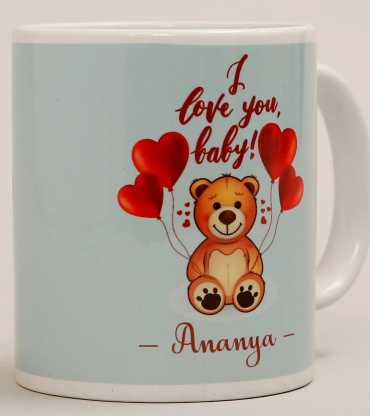 Teddy & Love Baby Mug
