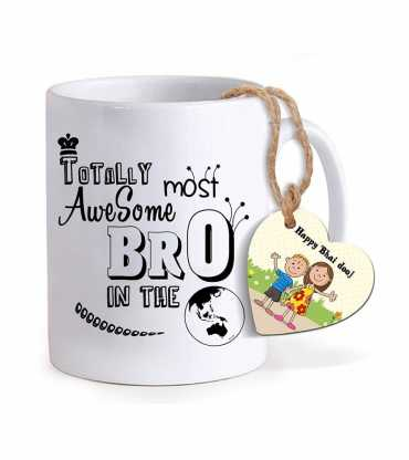 Unique Quote Bhai Dooj Mug