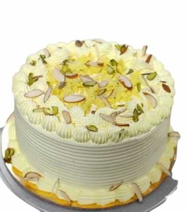 Vanilla Round Rasmalai Cake