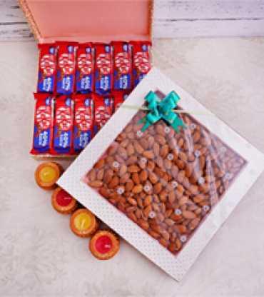 Almonds and Kit Kat Diwali Corporate Combo