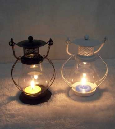 Set Of 1 Lantren Tea Light Candle