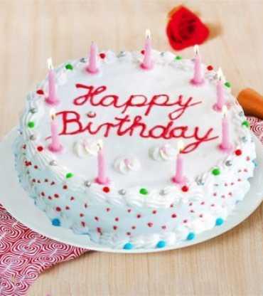 Creamy Birthday Cake