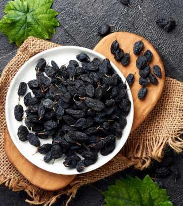 Delicious Black Raisins