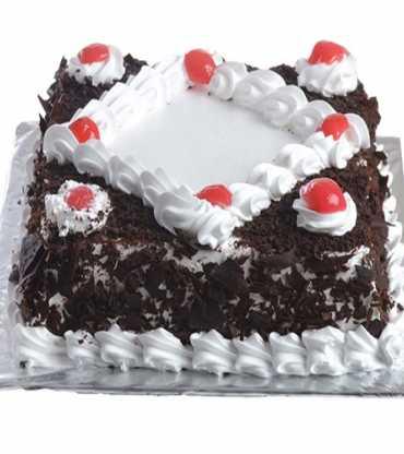 Black Forest Square Cake