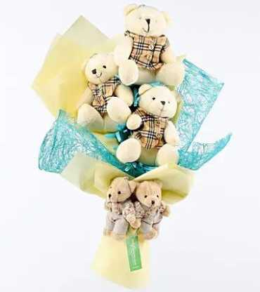 Cuteness-Overload-Teddy-Bouquet