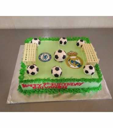 FootBall Theme Cake