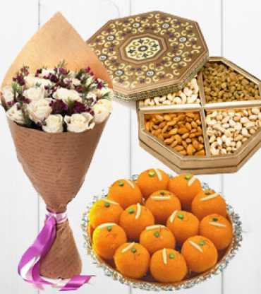 Flower-With-Dry-Fruits-And-Sweets