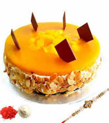 Mango Cake with Rakhi