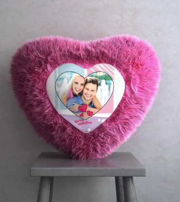 Valentin Heart Shaped Cushion