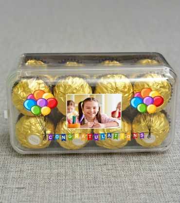 Ferrero Rocher Chocolates in Personalized Box
