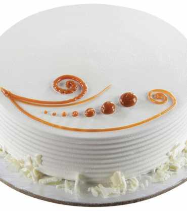 Premium Vanilla Cake Eggless