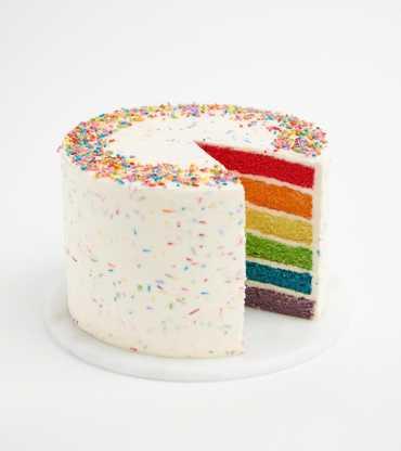 Order Rainbow cakes online
