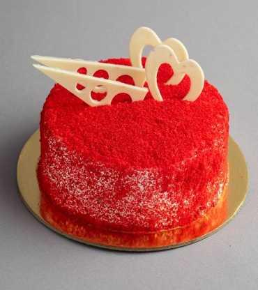 Red Velvet Wedding Cake 1 Kg