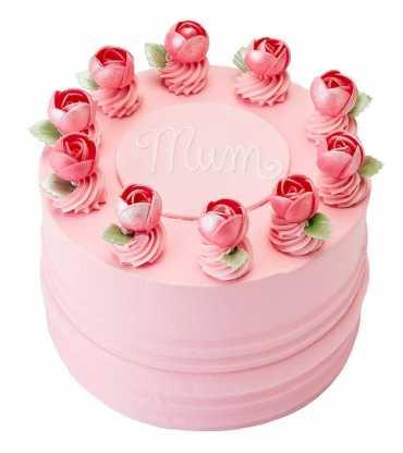 'Ring O' Roses' Cake