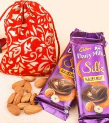 Diwali Gifts & Almonds Gift Pack