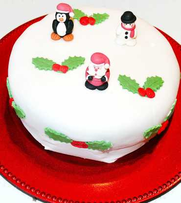 Christmas Santa Theme Cake