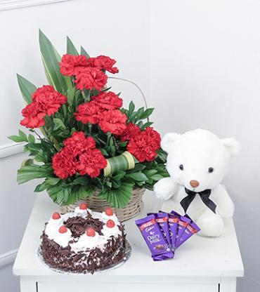 15-Red-Carnations-Half-kg