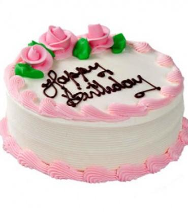 Floral Vanilla Cake