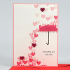 Valentine Greeting Card With Candle Combo