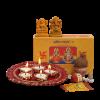 Puja Samgri And Clay Diya