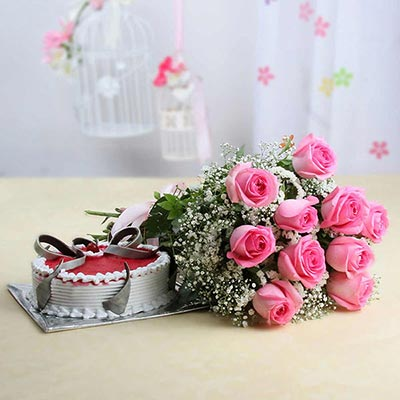 Bunch-Of-10-Pink-Roses