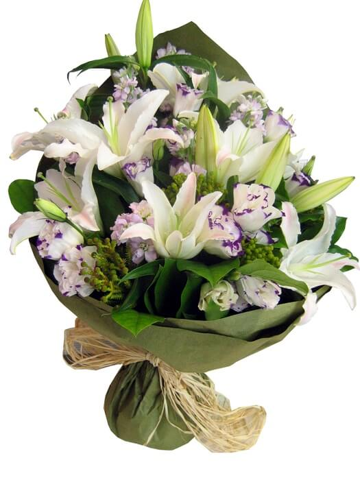 white-20lilly-20bouquet